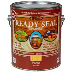 ready seal wood sealant natural finish