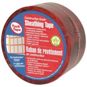 tucktape sheathing tape red