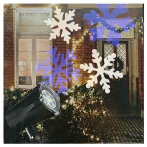 christmas motion projector