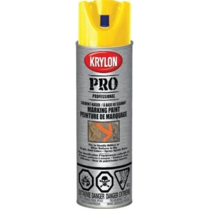 krylon spray paint yellow