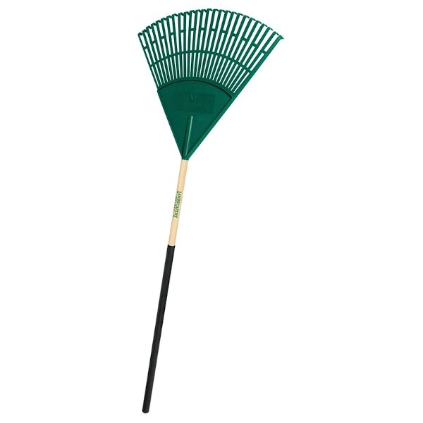 poly tine grass and leaf rake